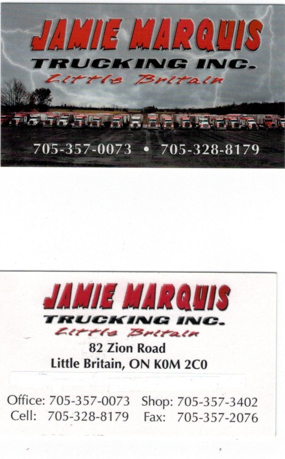Jamie Marquis Trucking Inc.
